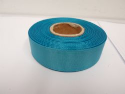 Dark Turquoise Blue Grosgrain ribbon, 2 or 20 metres, Ribbed Double sided, 6mm 10mm 16mm 22mm 38mm